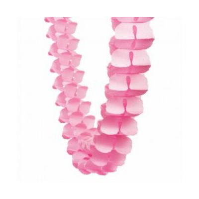 Honey Comb Garland Pink