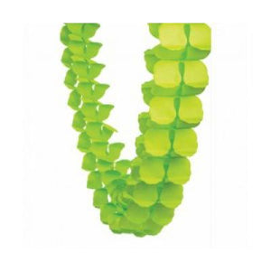 Honey Comb Garland Lime