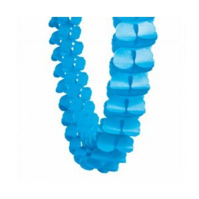 Honey Comb Garland True Blue