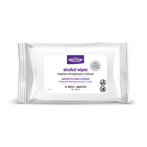 Alcohol Wipes 50-Pack