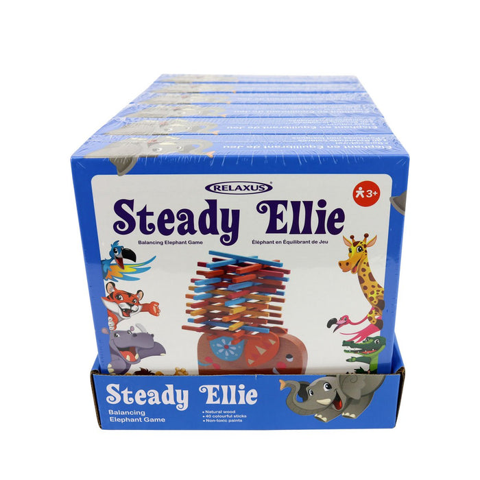 Relaxus Wholesale Steady Ellie Balancing Elephant Game