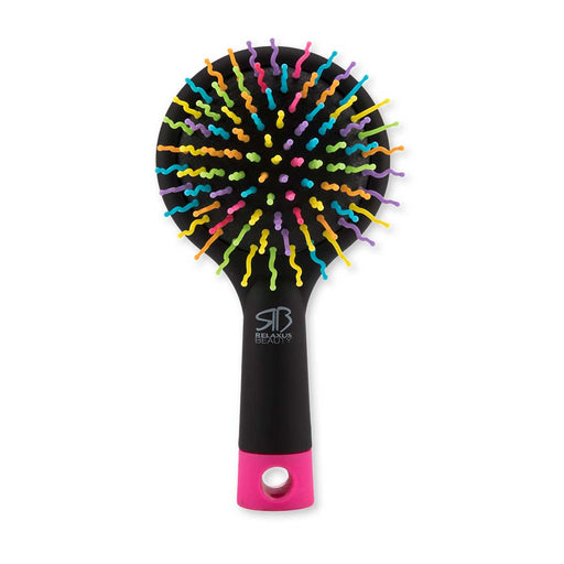 Relaxus Beauty Wholesale Rainbow Hair Brush with Mirror