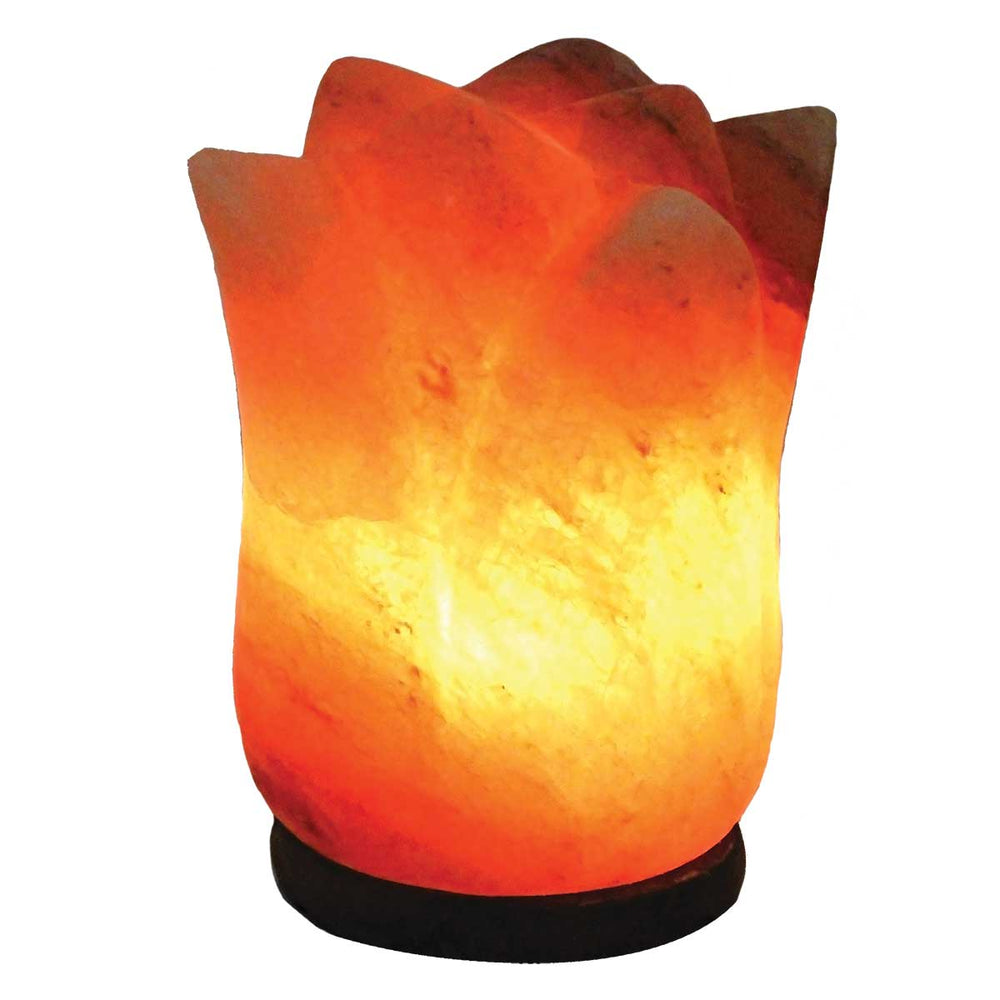 Wholesale Lotus Flower Himalayan Salt Lamp