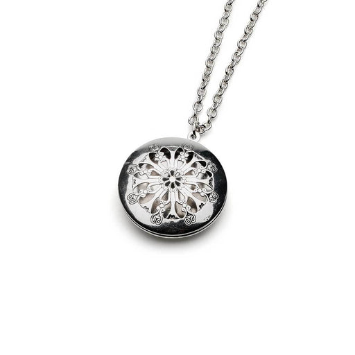 Aromatherapy Classic  Silver Locket Necklaces