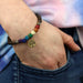 Chakra Scents Essential Oil Bracelet on wrist