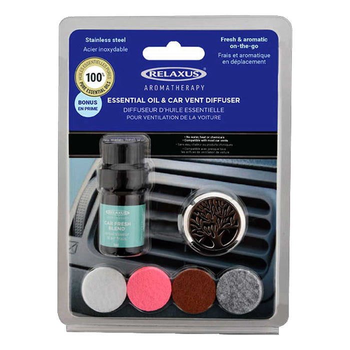 Serenity Car Vent Essential Oil Diffuser Kit
