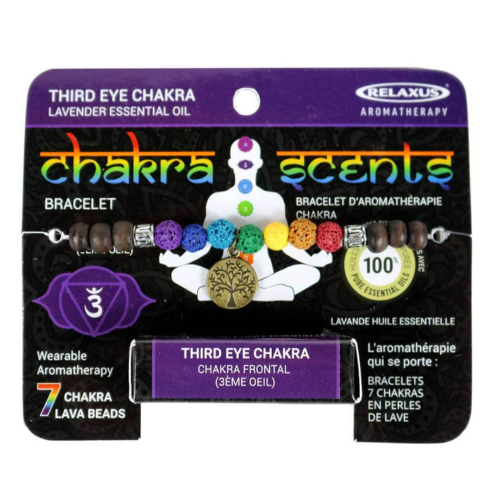 Wholesale Third Eye Chakra Scents Aroma Bracelet
