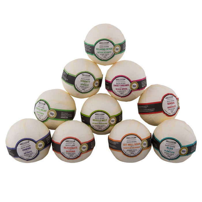 Wholesale Organic Bath Bombs 6 Piece Gift Set (6 x 60 g)