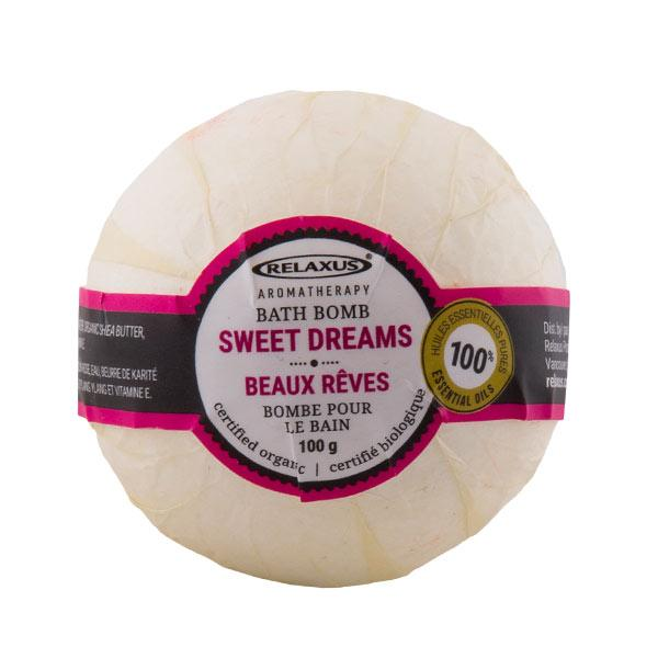 Sweet Dreams Organic Bath Bomb