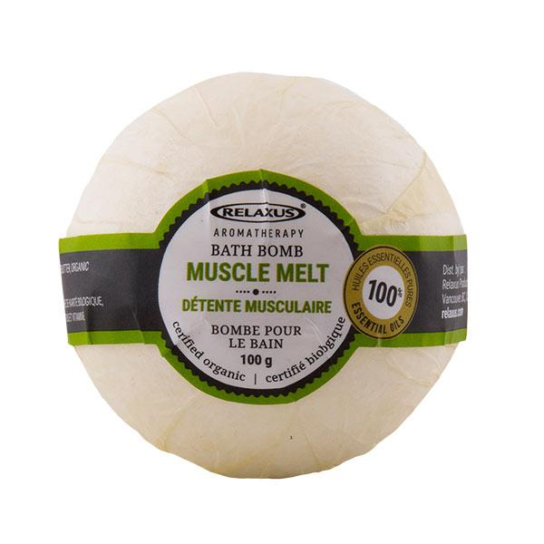 Muscle Melt Organic Bath Bomb