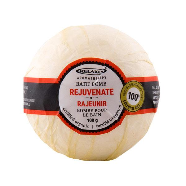Rejuvenate Organic Bath Bomb