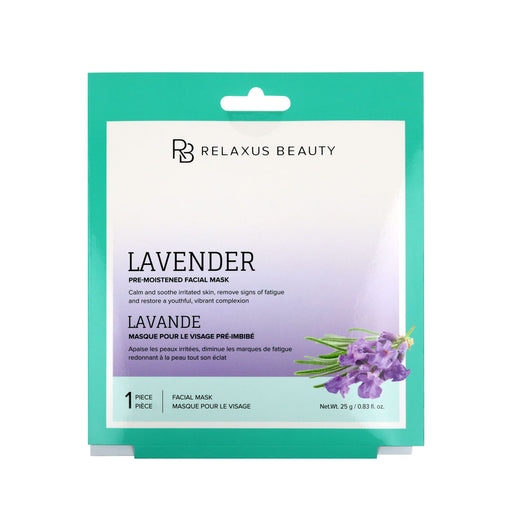 Wholesale Lavender Face Mask - Displayer of 12
