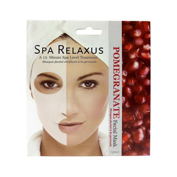 Wholesale Pomegranate Face Mask Displayer of 12
