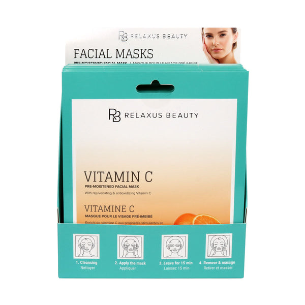Wholesale Vitamin C Facial Mask Displayer of 12