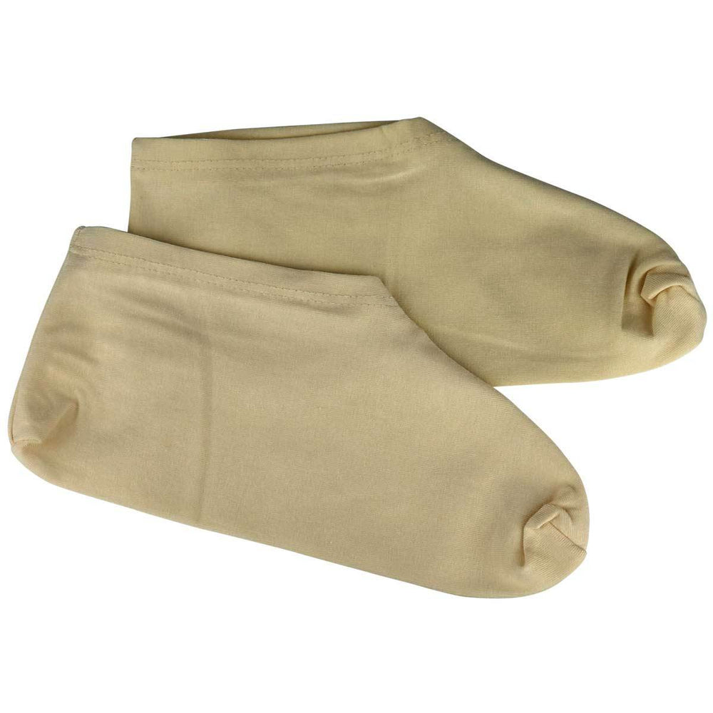 Wholesale Natural Unbleached Moisturizing Socks