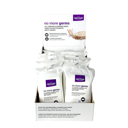 No More Germs Anti-Bacterial Cleansing Wipes