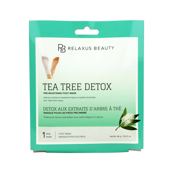 Wholesale Tea Tree Foot Mask