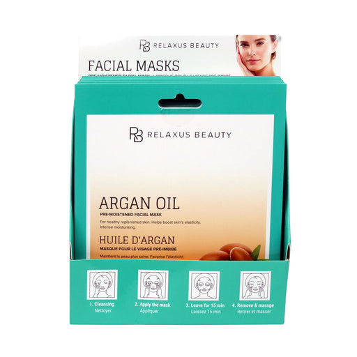Wholesale Argan Oil Face Mask - Displayer of 12