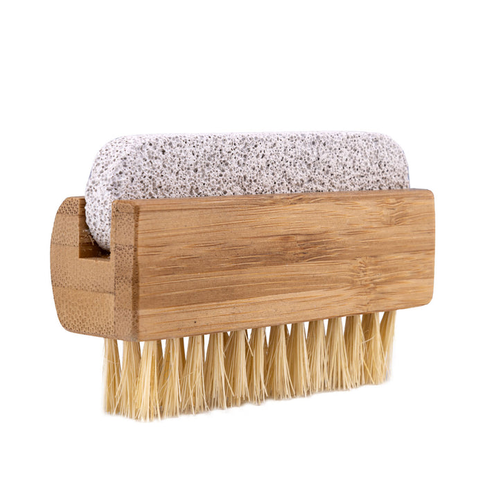 Tampico Nail Brush With Pumice Stone