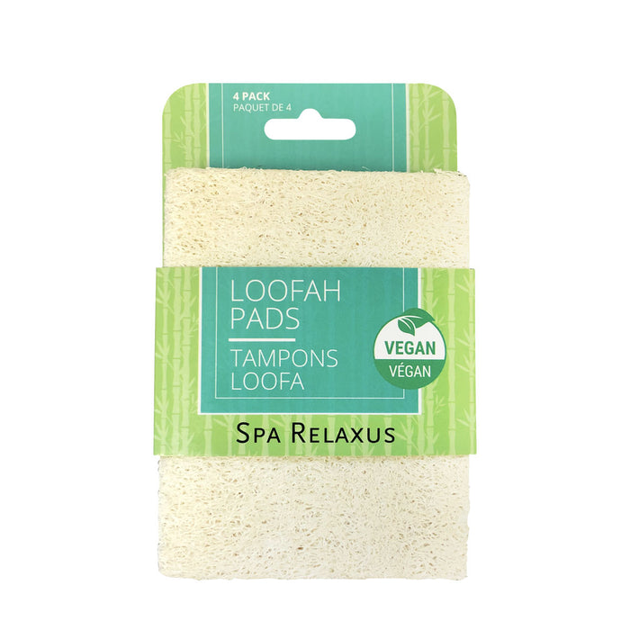 Loofah Pads (4-Pack)