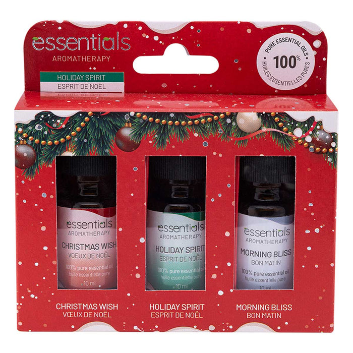 Wholesale Essential Oils Gift Set (3 x 10 ml) - Displayer of 6