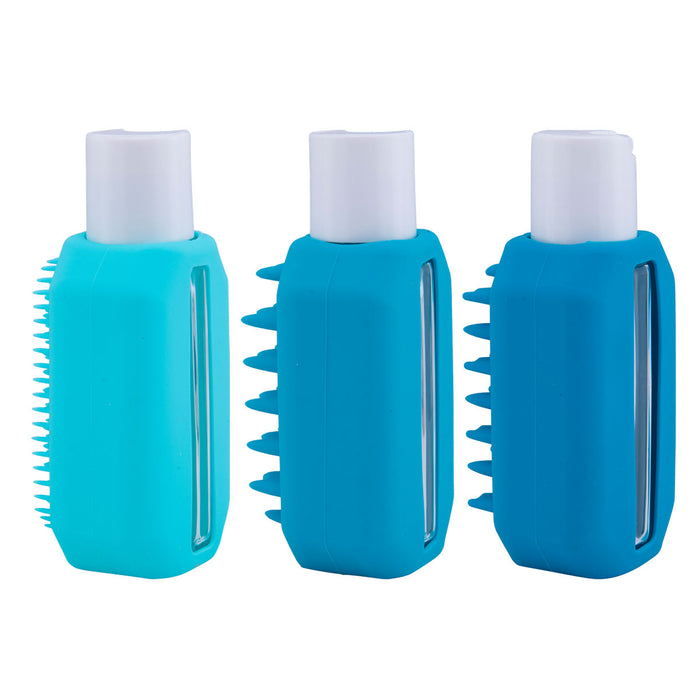 Relaxus Wholesale Silicone Travel Bottle Set (3 Pcs)