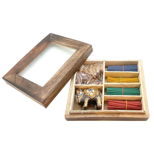 Wholesale Karmascents Incense Wooden Gift Set