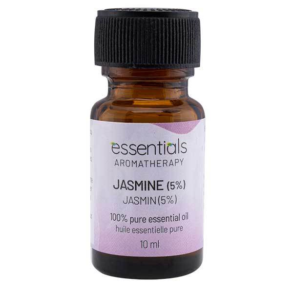 Wholesale Essentials Aromatherapy Jasmine 5% 10ml Essential Oil