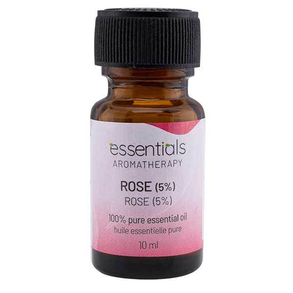 Wholesale Essentials Aromatherapy Rose 5% 10ml Essential Oil