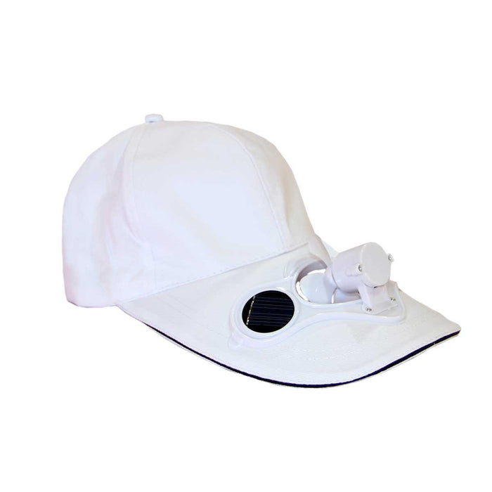 Wholesale Solar Powered Cooling Fan Caps