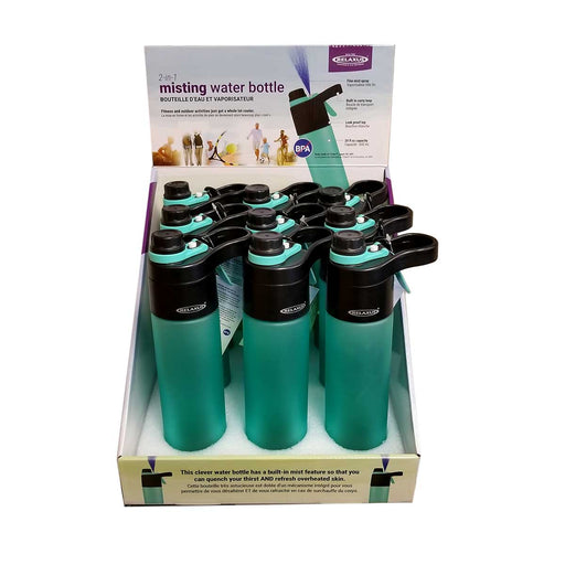 Wholesale 2-In-1 Misting Water Bottle Displayer of 9