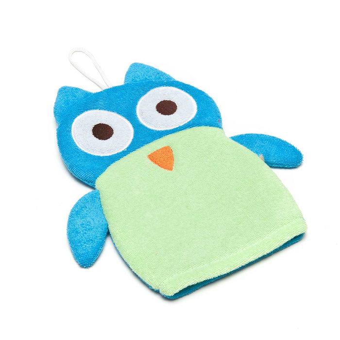 Wholesale Bath Mitt Friends Owl