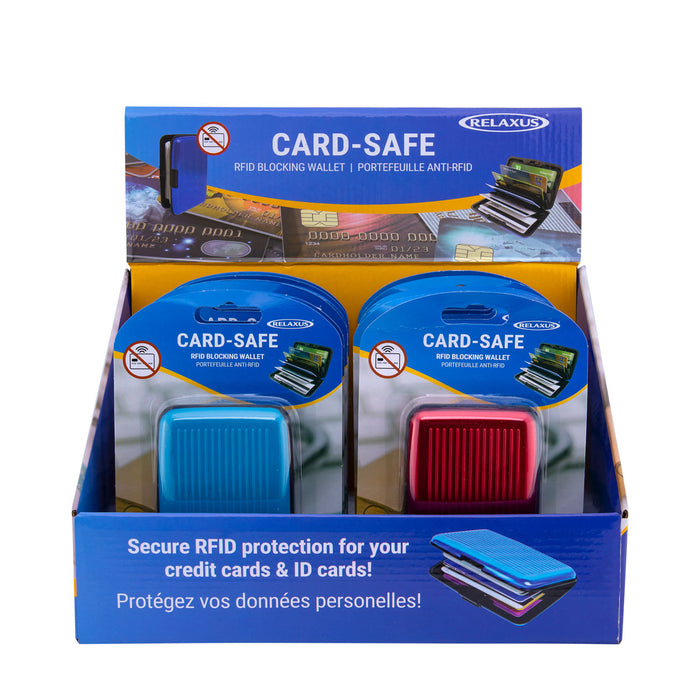 Relaxus Wholesale Card-Safe RFID Wallet