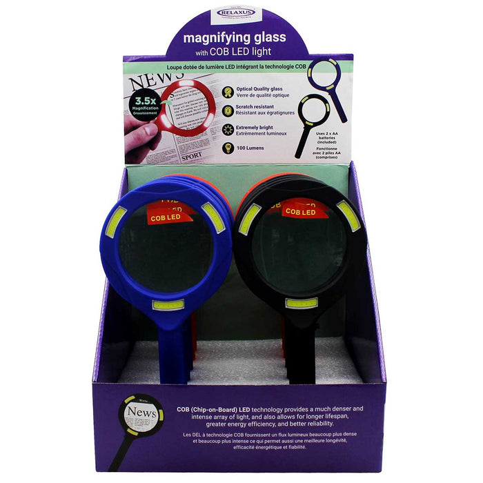 Wholesale Magnifying Glass with COB LED