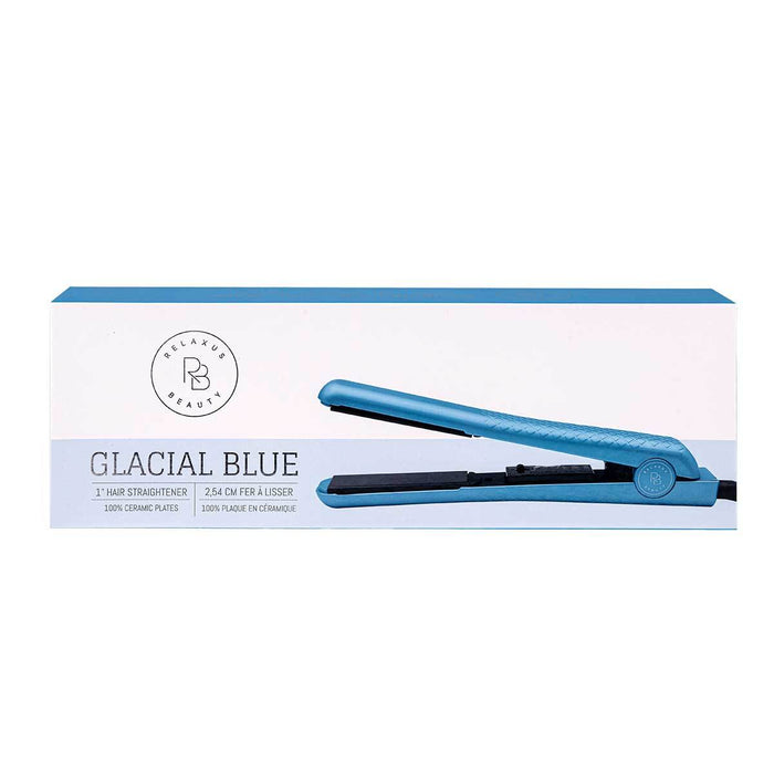 Relaxus Beauty Wholesale Glacial Blue Hair Straightener