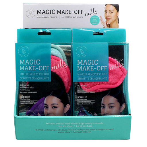 Relaxus Beauty Wholesale Magic Makeup Remover Mitts