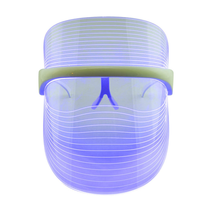 LED Light Therapy Shield blue