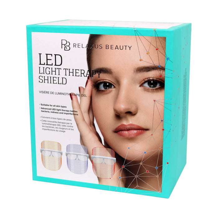 LED Light Therapy Shield box