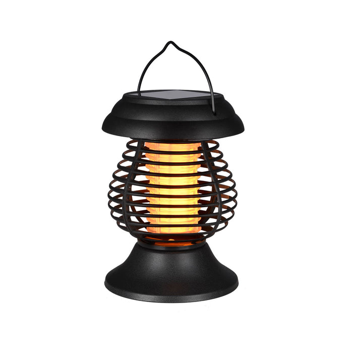 Solar-Powered LED Bud Zapper Lantern