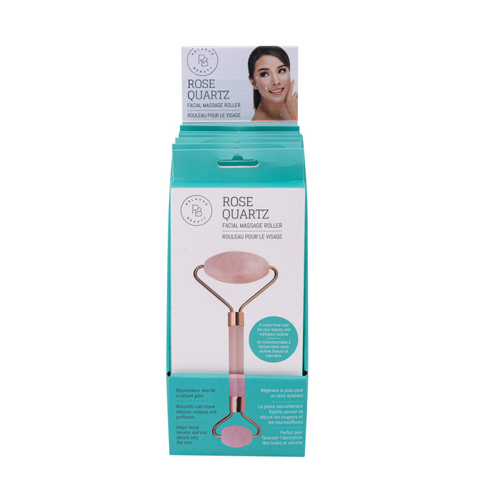 Relaxus Beauty Wholesale Rose Quartz Facial Roller