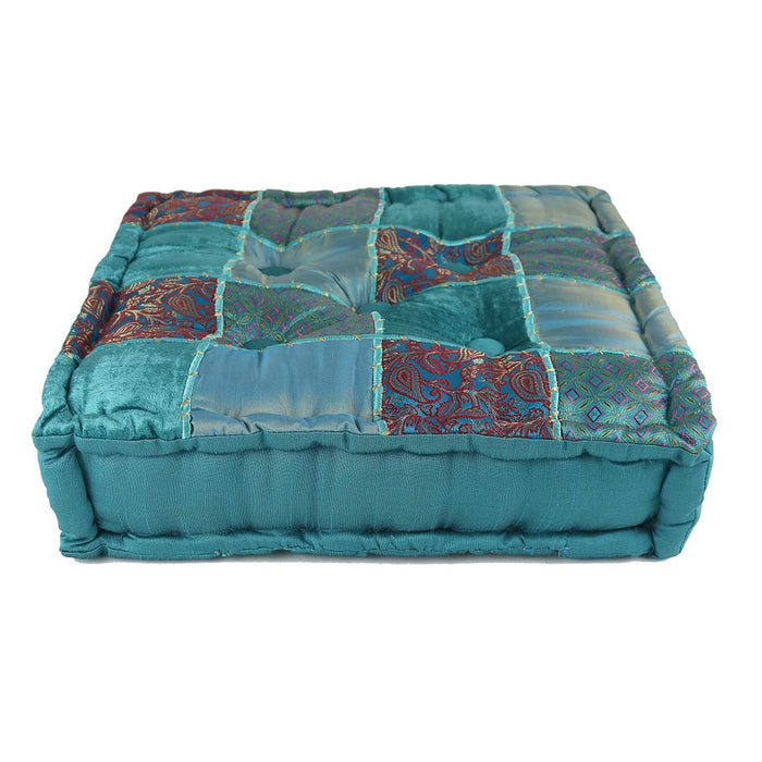 Wholesale Blue Taj Meditation Cushion
