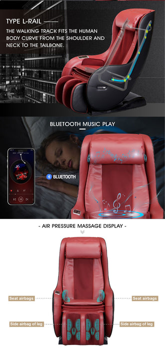 Wholesale L-Shaped Mini Zero Gravity Massage Chair