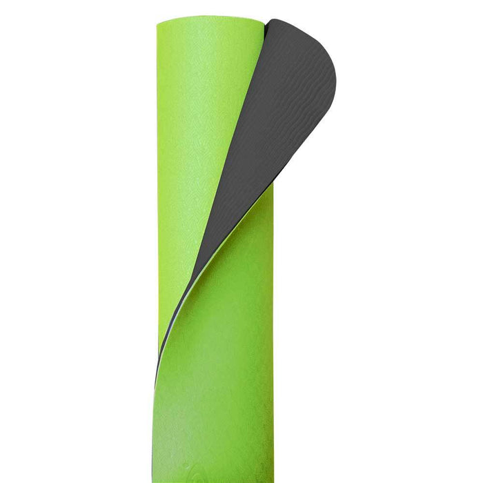 ECO Yoga Mats Cool Grey / Lime