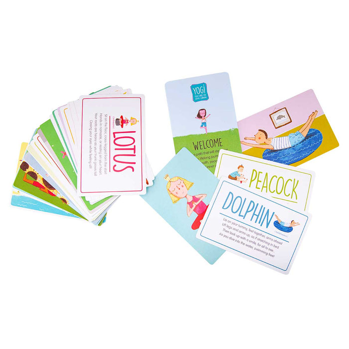 Wholesale Yoga Cards For Kids (Tutorial Beginner)