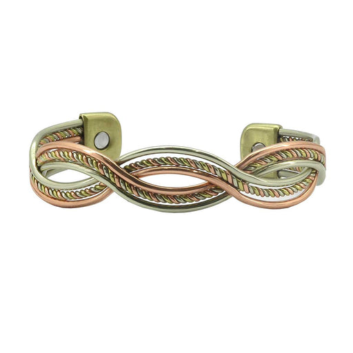 Wholesale Serpentine Twist Magnetic Bangle