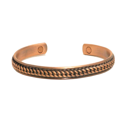 Wholesale Copper Rope Magnetic Bangle