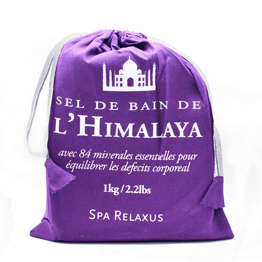 Himalayan Spa Bath Salts 1 kg (2.2 lb) Prepack of 12