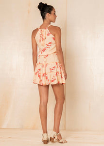 Orchid Madie Mini Dress- Butter Cup
