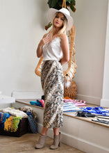 Load image into Gallery viewer, The Jessica Skirt in Snakeskin