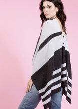 Load image into Gallery viewer, Chumash Stripe Poncho
